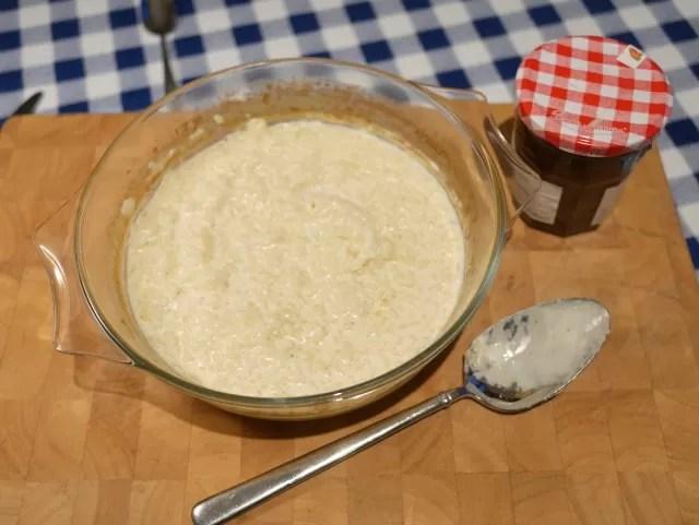 homemade Rice pudding