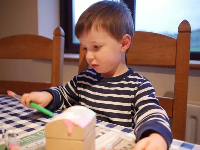 making his treasure chest