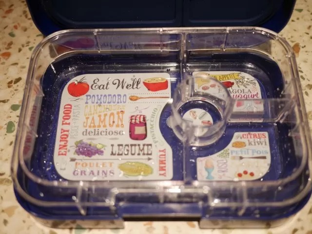 yumbox inside pictures