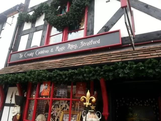Wizard and magic shop Stratford upon Avon