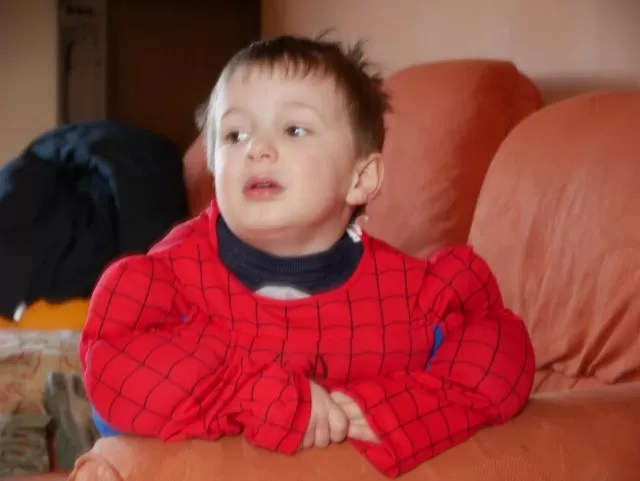 World book day as Spiderman