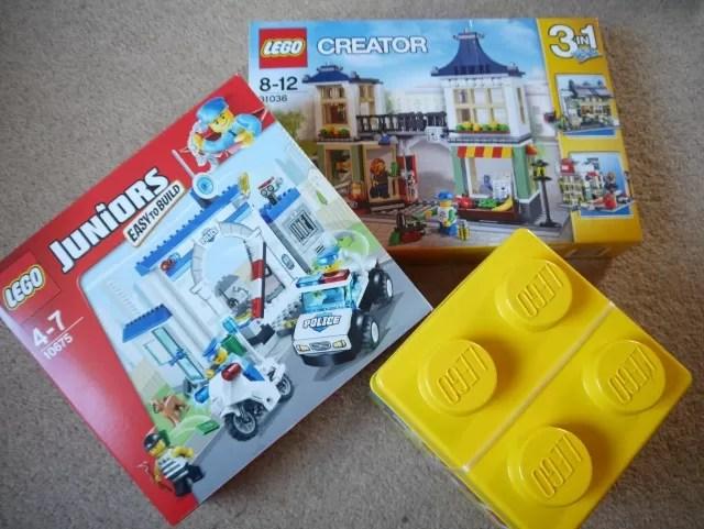 Asda Direct Lego Juniors Leg Creator and Lego Classic kits