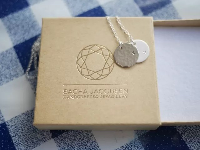 Notonthehighst.com personalised necklace