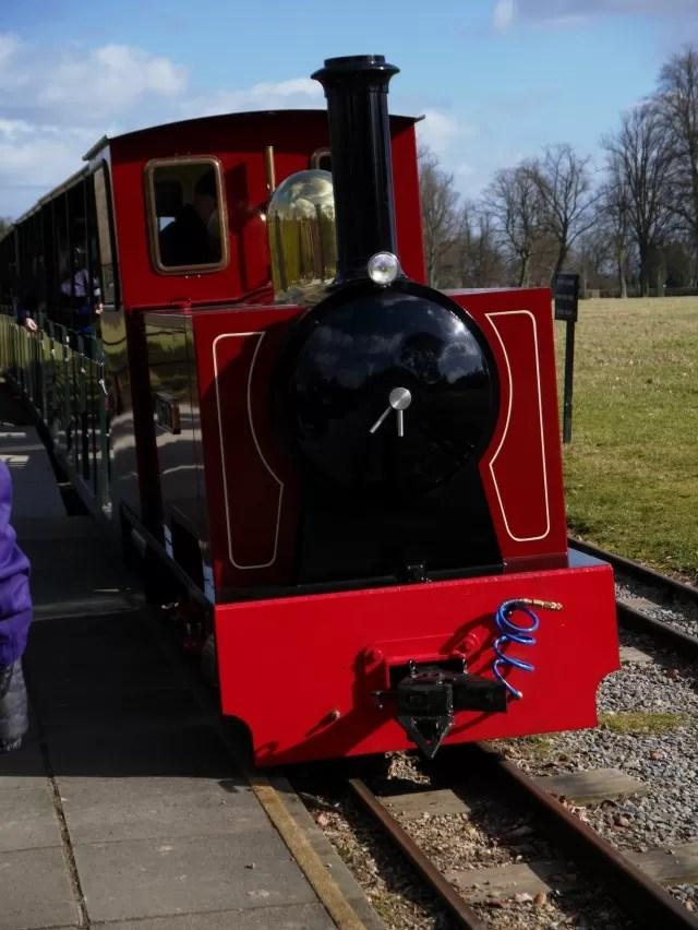 Winston the engine at Blenheim Palace