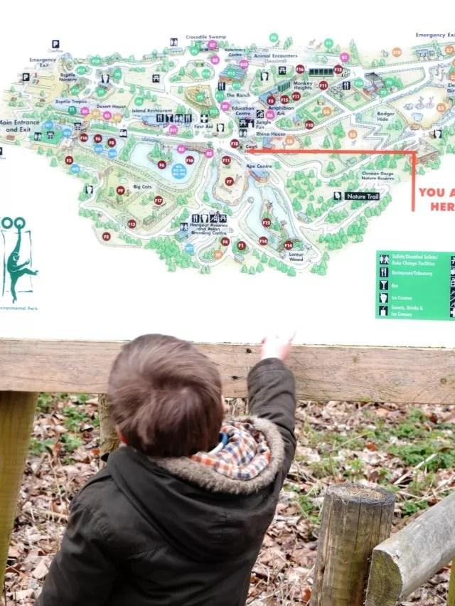 paignton zoo map