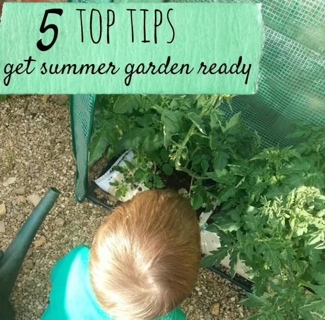 get summer garden ready