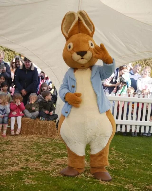 Peter Rabbit storytime at Blenheim Palace