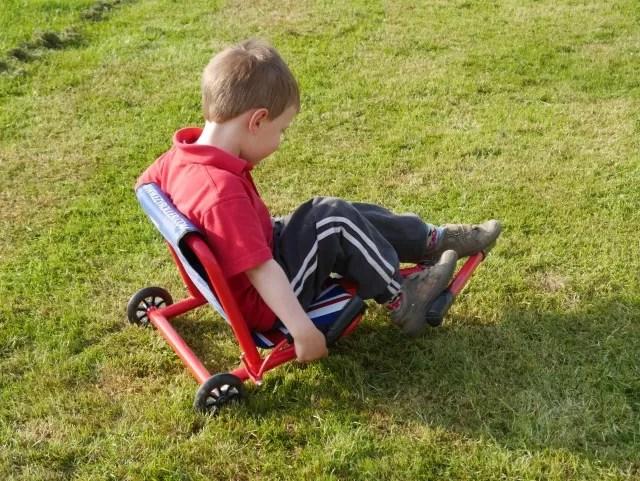 EzyRoller on grass