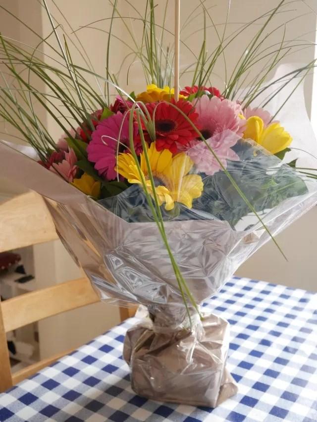 gerbera bouquet from Serenata flowers