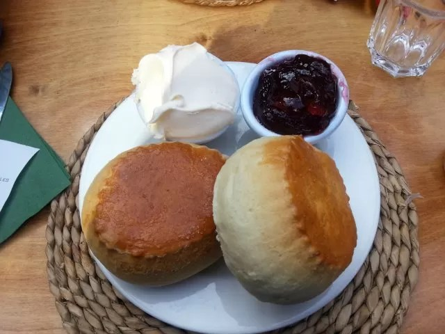 giant devonshire cream tea