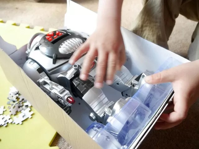 radio control robot