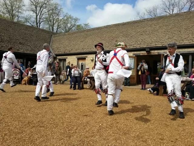 Oxfordshire Morris Dancers at sulgrave manor