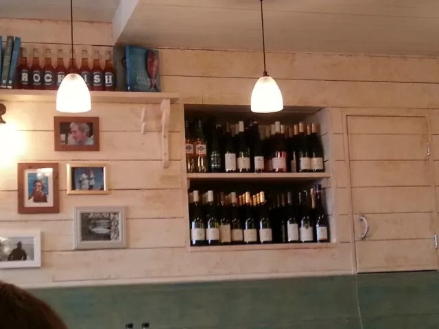 Rockfish fish and chip restaurant decor