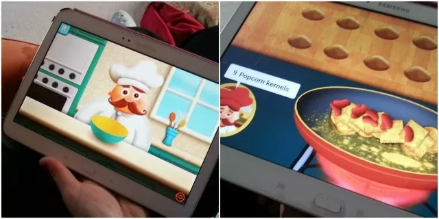 Tiggly counts Chef maths game