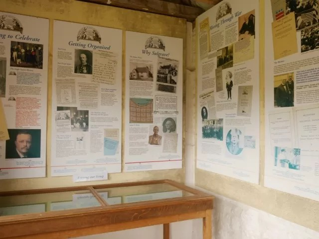 display at Sulgrave Manor