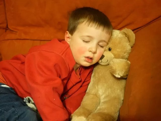 the anywhere you drop sleep position