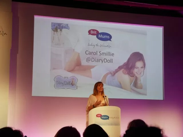 Diary Doll, Carol Smillie talk at Britmums Live