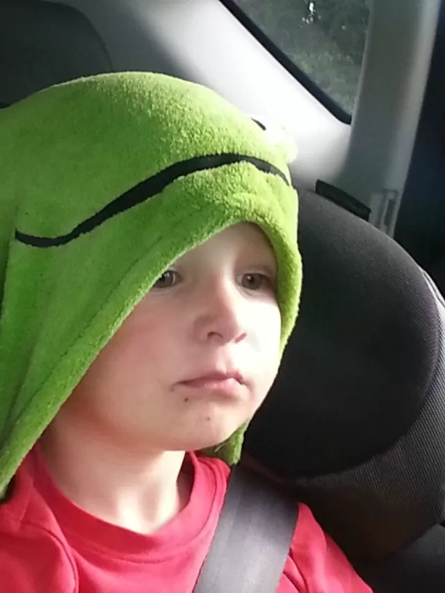 Little frog blanket