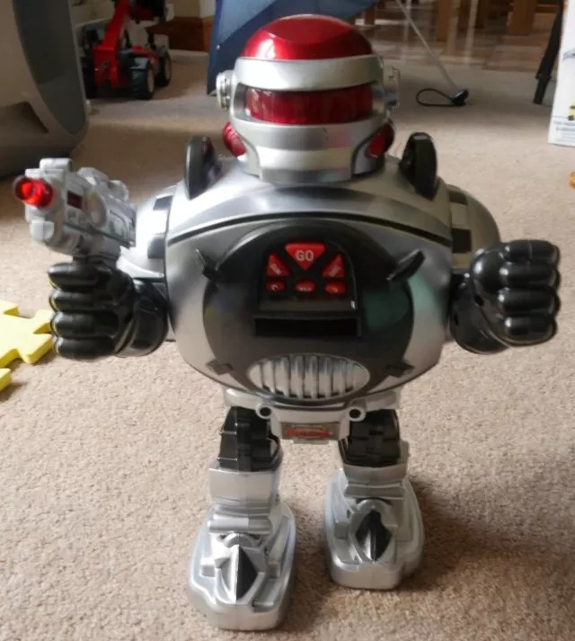 remote control toy robot