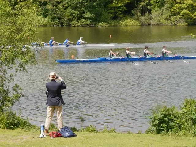 rowing races at Trentham