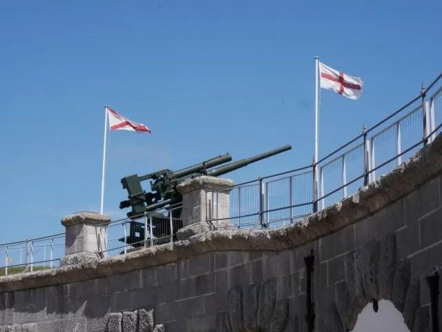 Nothe Fort guns