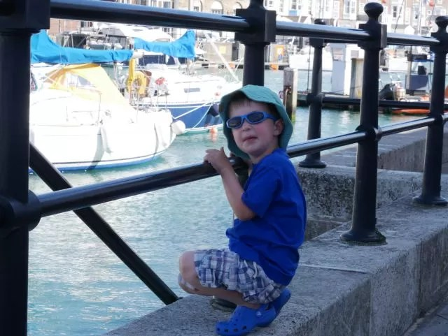 chilling at Weymouth Harbour