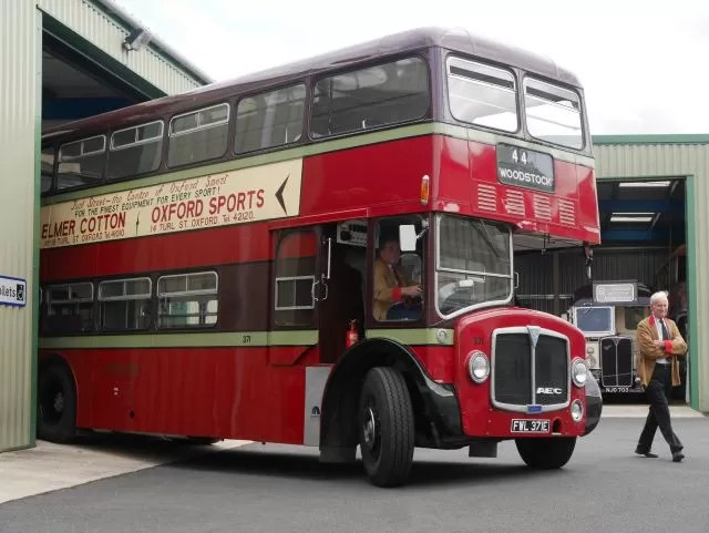 Vintage bus journey