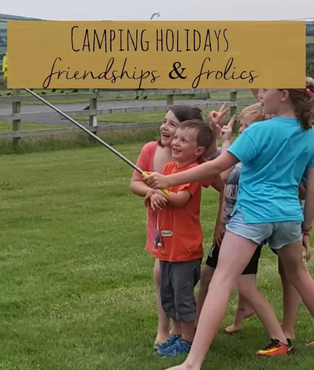camping friendships and frolics - Bubbablue and me
