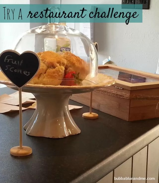 try a restaurant challenge