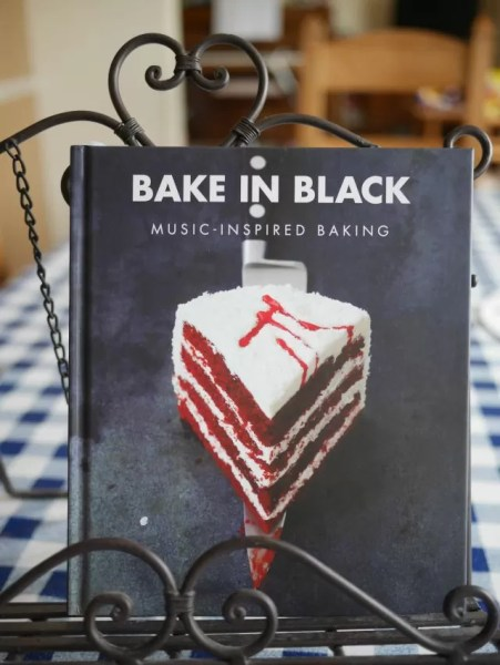 Bake in Black recipe book