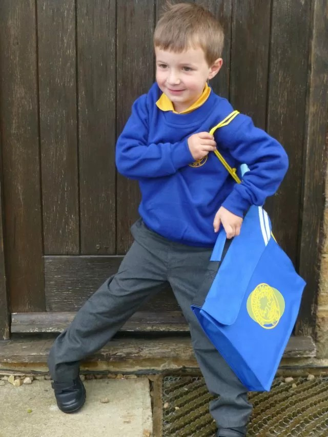 Best first day at school photo