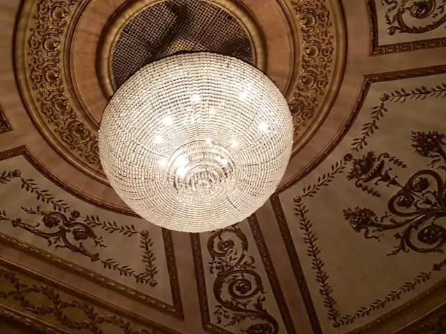 Chandelier at Lyric Theatre London