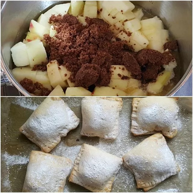 apple hand pies - Bake to black
