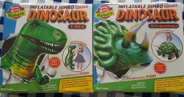 giant inflatable dinosaurs from Prezzybox