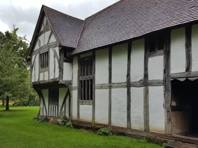town house at Avoncroft Museum