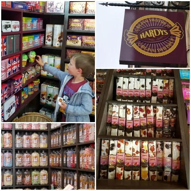 Hardys sweet shop Oxford