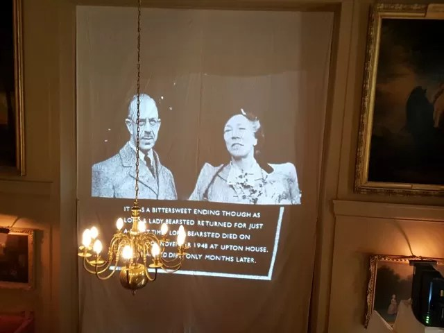 wartime videos from Upton House