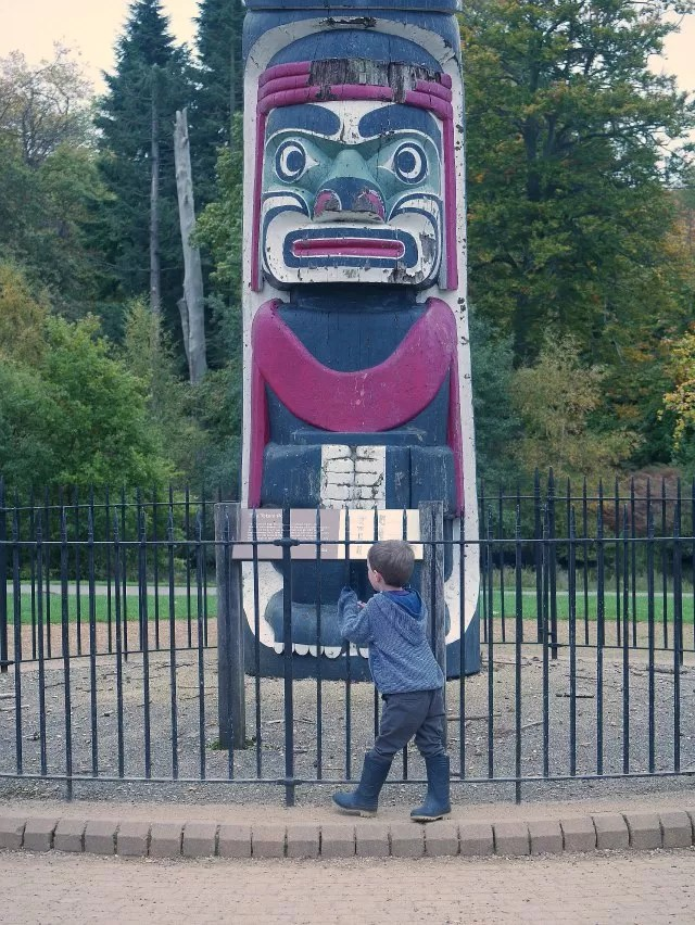 Virginia Water totem pole