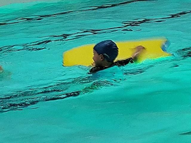 final fun swimming session