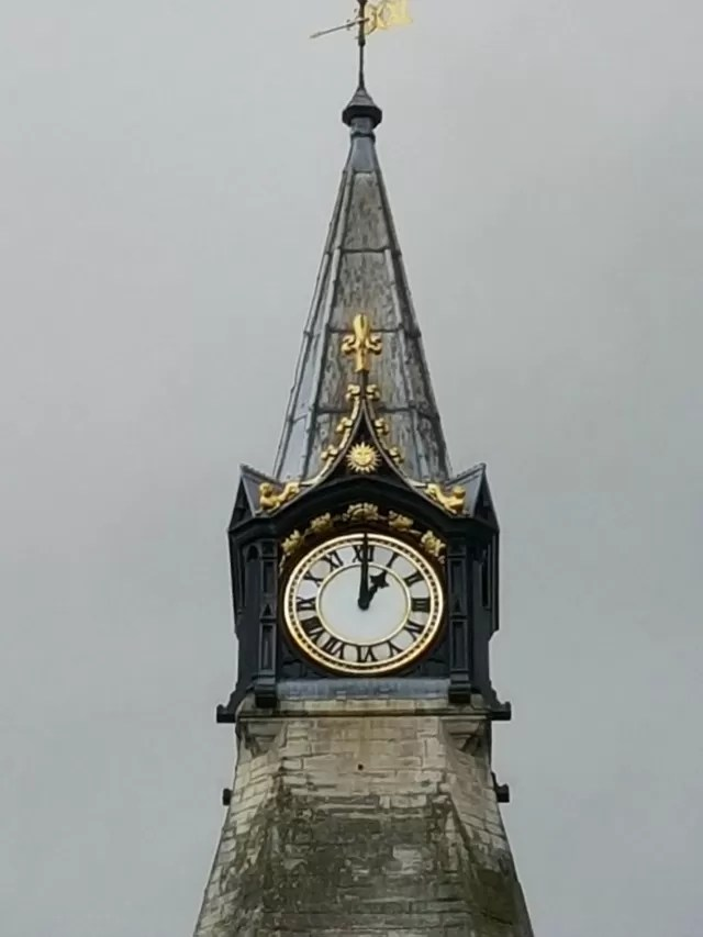 Banbury town hall clock tower