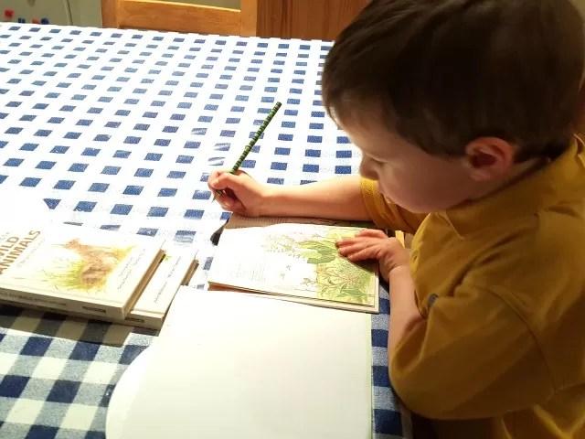 practising writing