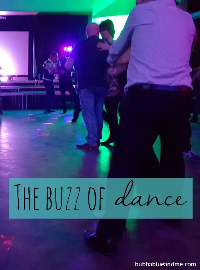 The buzz of dance - getting back to modern jive Bubbablue and me