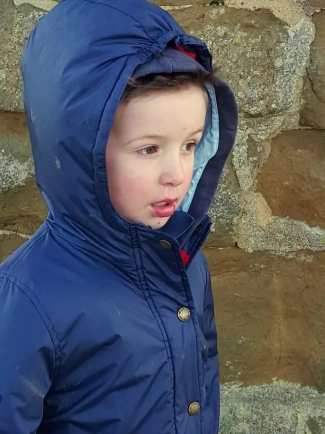 chilly walk at Burton Dassett country park