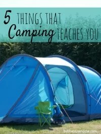camping learnings