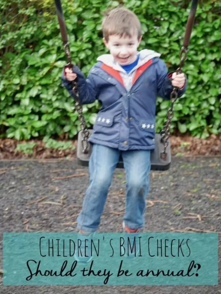 Children's bmi checks - should they be done annually