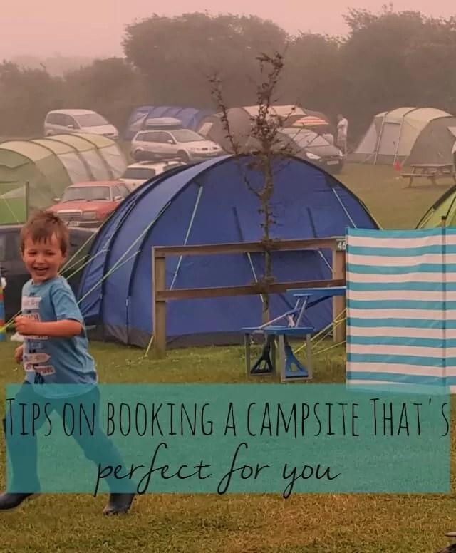 book a camping holiday
