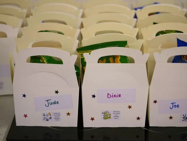 party lunch boxes