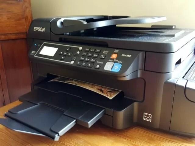 Epson 4 in 1 ecotank printer
