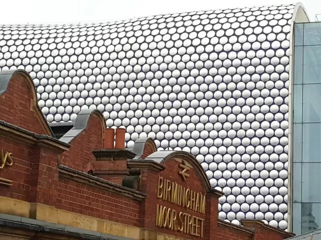 Old vs new - Bullring vs Moor Street