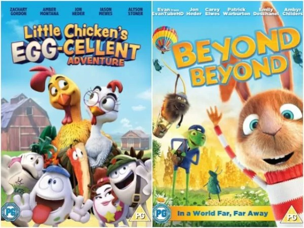 Spring children's film releases giveaway